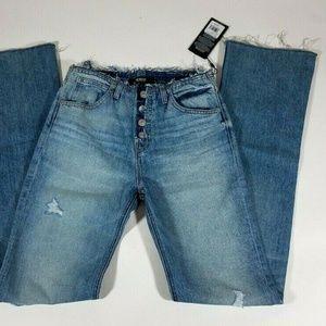 HUDSON High Rise Sloane Slouchy Jeans - 23